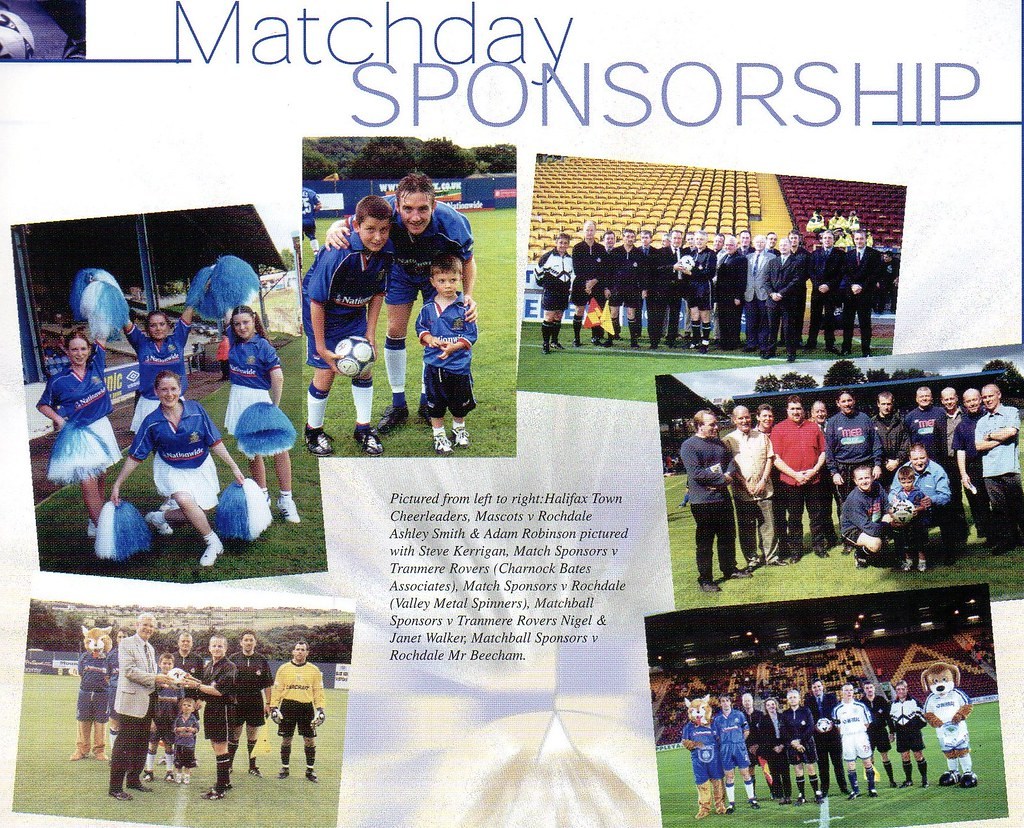 16-09-2000 Halifax Town 0-1 Southend United 10