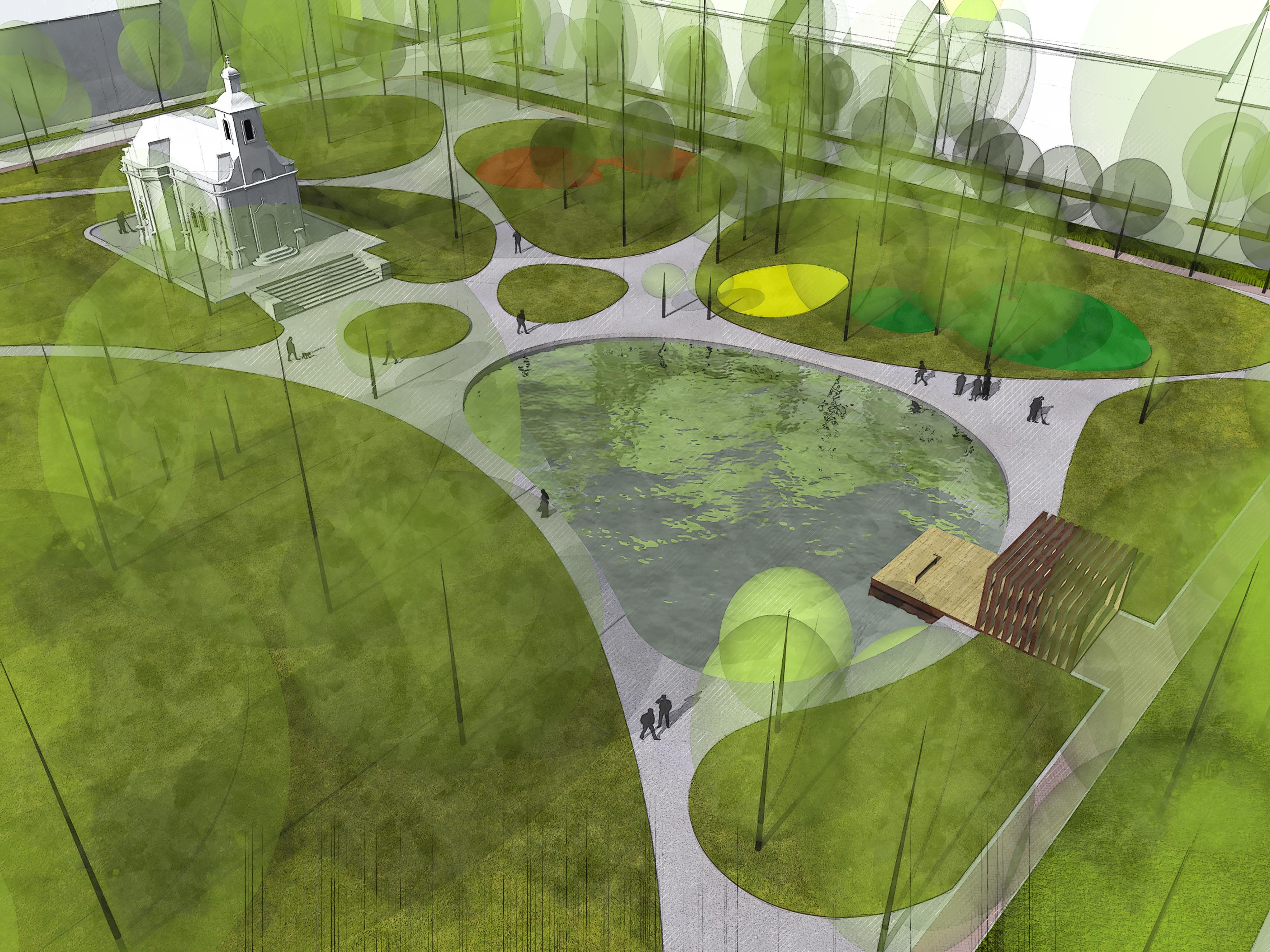 A Széchenyi teret is újratervező stúdió terveivel újítják fel a Lechner teret