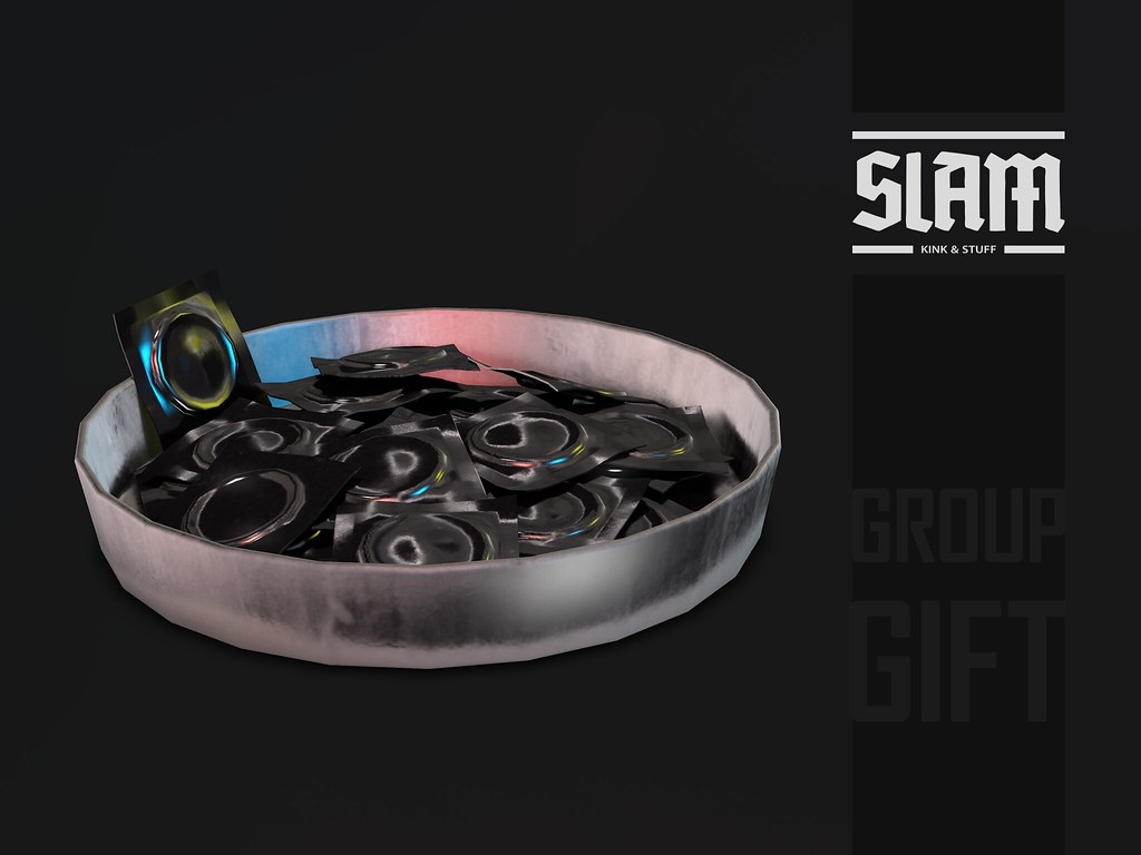 SLAM // group gift // condom tray