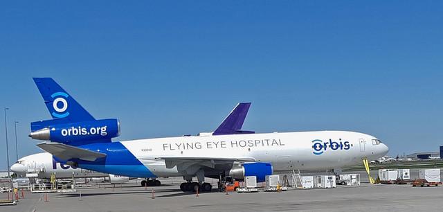 Hospital in the sky.