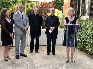Reception in honor of the Association of Catholic Colleges and Universities