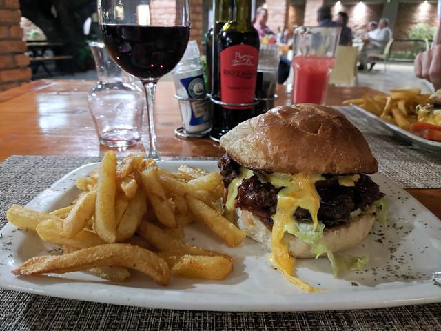 oryx burger @ Casa Forno