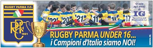 Gazzetta di Parma - 12.06.19 - Piede Under 16 e IG