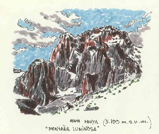 Monte Kenya (5.199 m.s.n.m.)