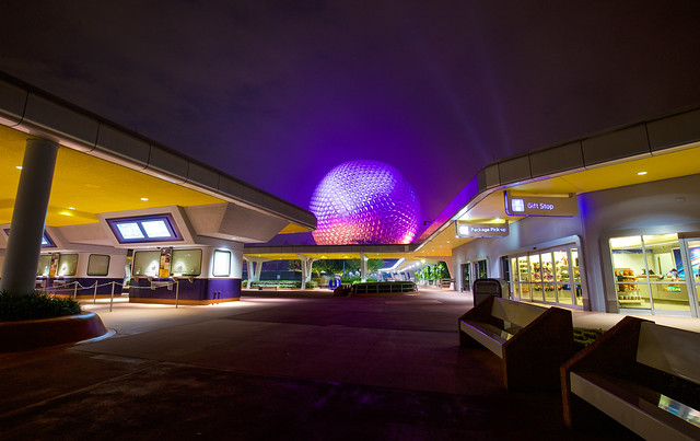 Epcot From the Gates