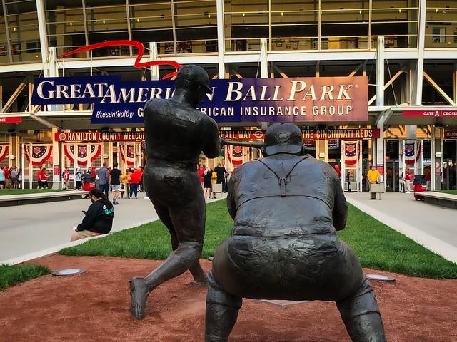 Sculptures at Great American Ball Park Cincinnati OH
