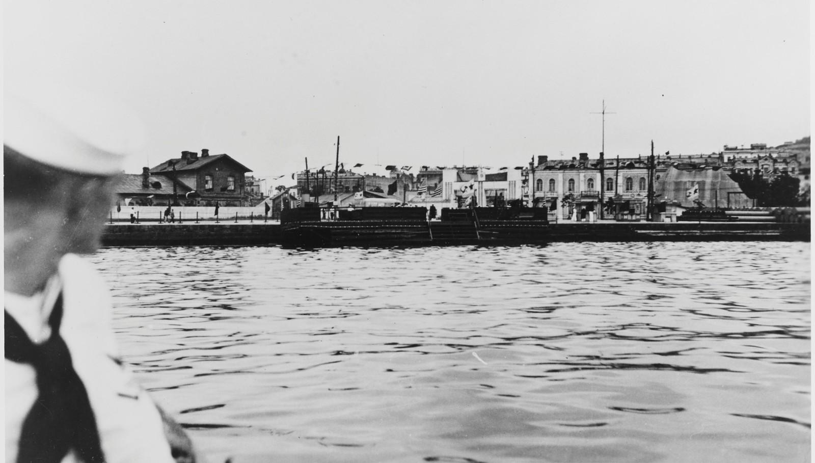 Портовая часть города