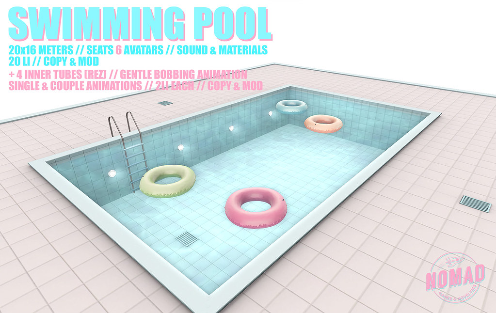 NOMAD // Swimming Pool Set - TeleportHub.com Live!