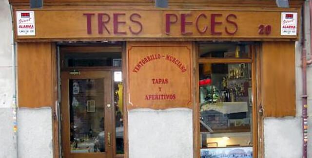 Bar 'Tres Peces' El Ventorrillo Murciano