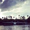 On a water taxi headed to #universalstudiosorlando #universalstudios #seaplane
