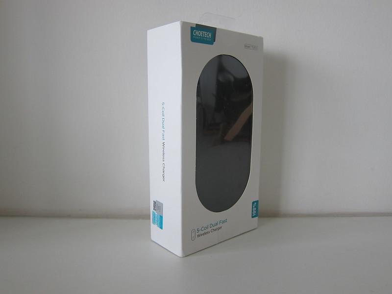 Choetech 5 Coils Dual Fast Wireless Charging Pad - Box
