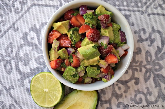 Strawberry Avocado Salsa 1