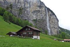 Looking back at Staubbachfall