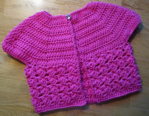 Cropped Pink Cardi