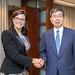 President Nakao, Global Infrastructure Hub CEO meet in ADB Headquarters