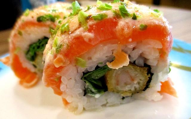 Salmon & prawn