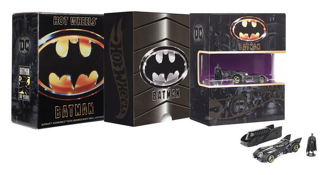附屬了帥氣防護盾!! 風火輪《蝙蝠俠(1989)》蝙蝠車 1989 Batmobile【2019 SDCC 限定】