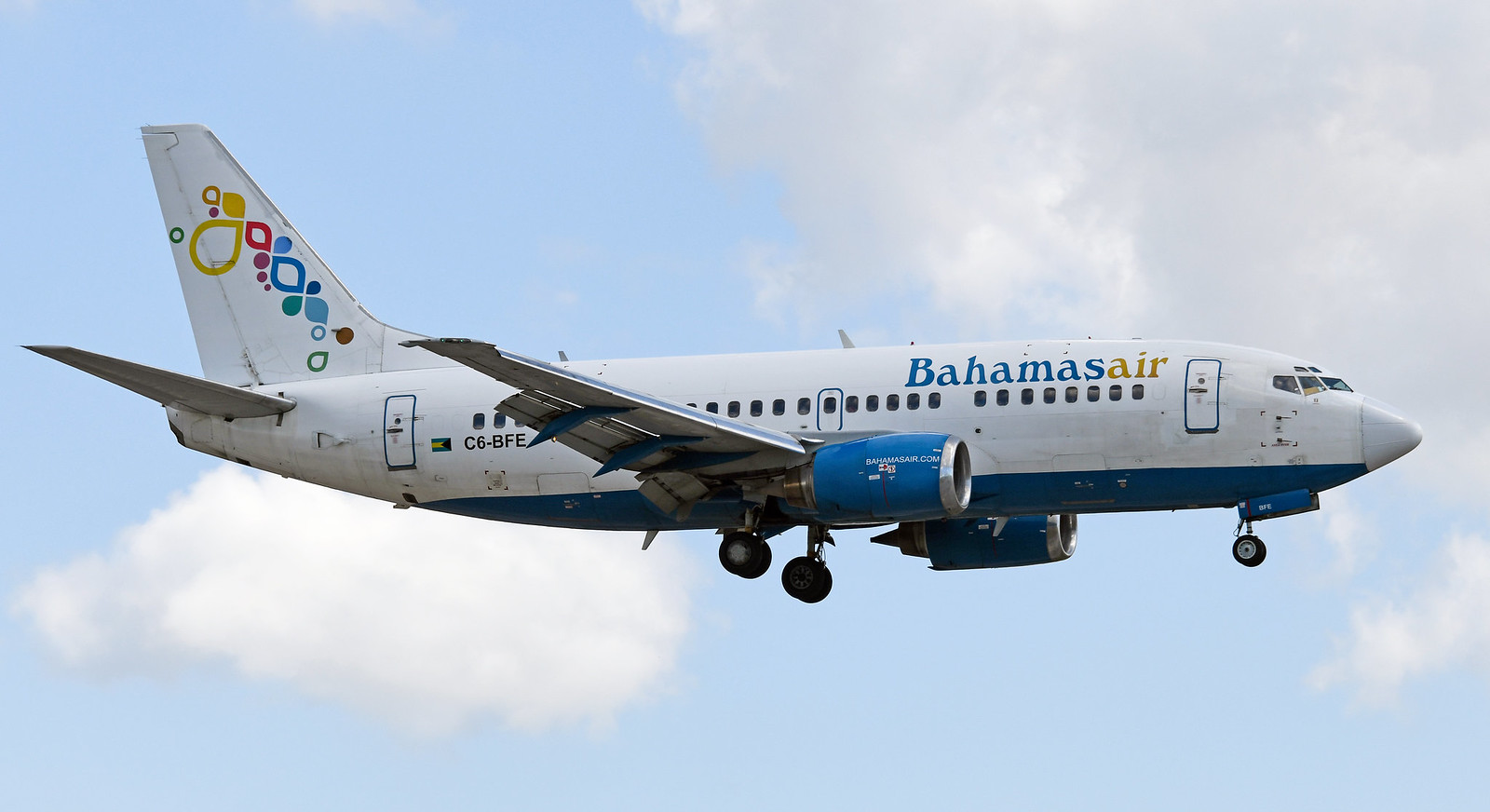 Image result for bahamasair Boeing 737-500