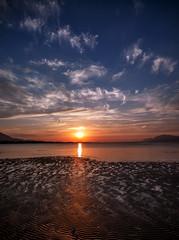 Chalkida, Sunset