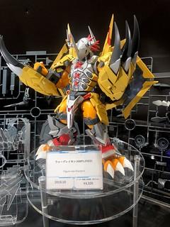 【更新官圖&販售資訊】Figure-rise Standard [AMPLIFIED]《數碼寶貝大冒險》戰鬥暴龍獸(ウォーグレイモン)組裝模型