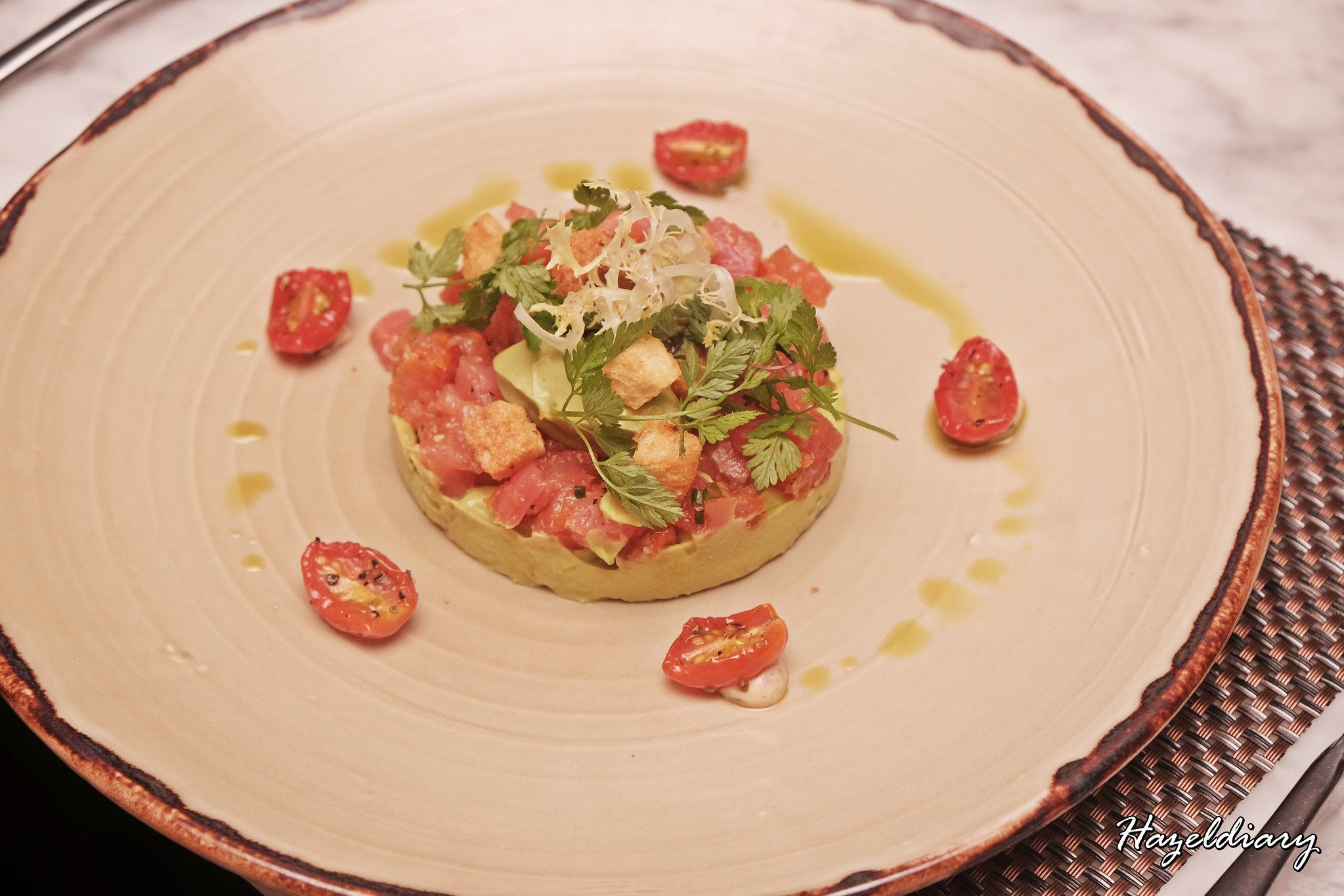 Grissini New Menu-Grand Copthorne Waterfront-Avocado Tuna Tartare