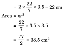 Perimeter and Area Class 7 Extra Questions Maths Chapter 11 Q7
