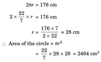 Perimeter and Area Class 7 Extra Questions Maths Chapter 11 Q11