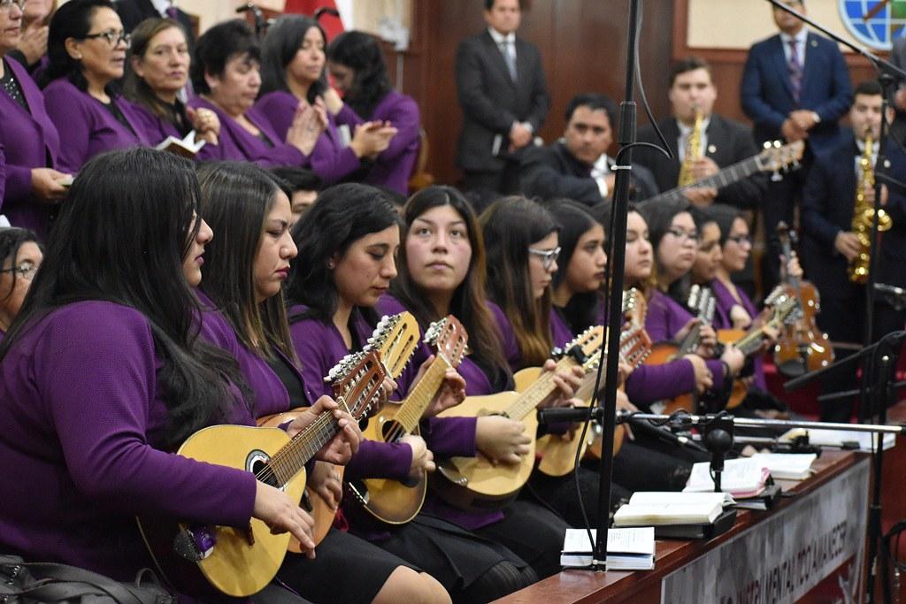 Confraternidad oficiales diáconos y esposas en IMPCH Temuco amanecer