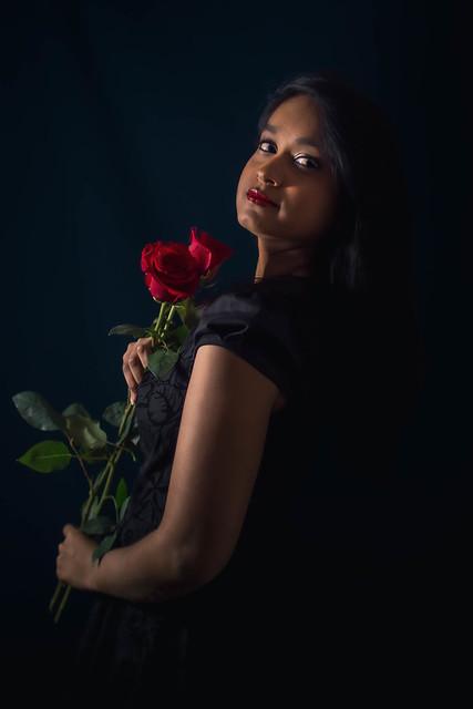 Mélusine petite robe noire 3