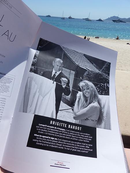 Bardot à Cannes
