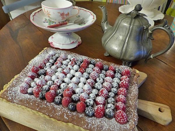 la tarte au chocolat de Jamie