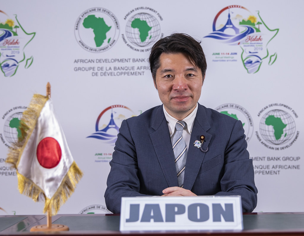 Malabo AfDB Annual Meetings Day 2 - Shinichi Isa, Parliamentary Vice-Minister for Finance for Japan