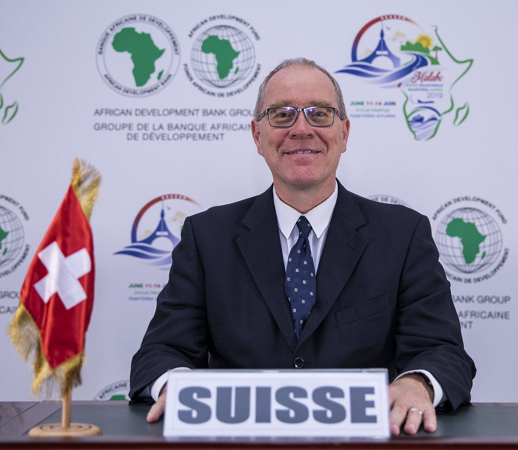 Malabo AfDB Annual Meetings Day 2 - Raymund Furrer, Ambassador and Delegate of the Swiss Government for Trade Agreements