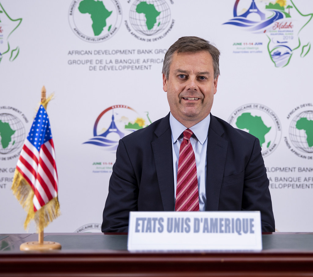 Malabo AfDB Annual Meetings Day 2 - Deputy Assistant Secretary Matthew P. Haarsager, Governor for United States of America
