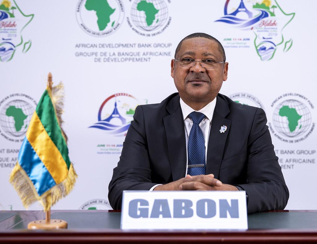 Malabo AfDB Annual Meetings Day 2 - Jean-Marie Ogandaga, Ministre de L'Economie, de la Prospective et de la Programmation du Developpement chargé de la Promotion des Investissements Publics-privés