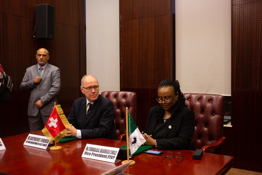 Malabo AfDB Annual Meetings Day 3 - Signature Agreement Between Switzerland and the AfDB