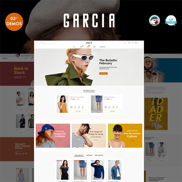 Trending Fashion Boutique E-Commerce Prestashop Theme