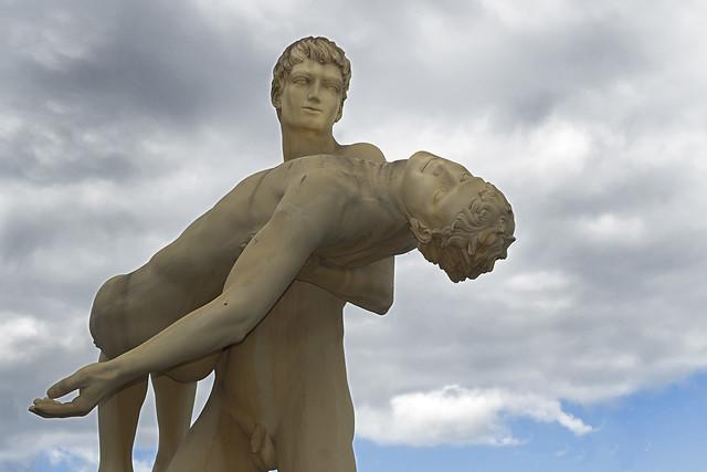 The Weight of Oneself Sculpture