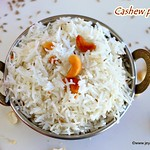 Cashew pulao recipe