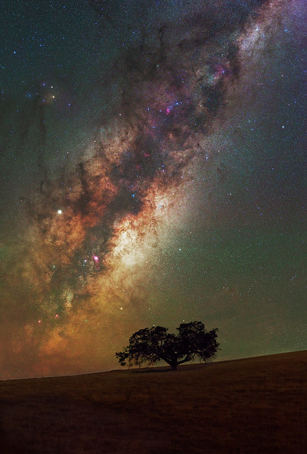 Milky Way Rising at Boddington, Western Australia
