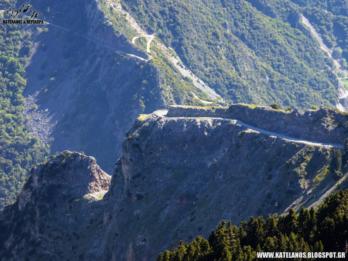 ευρυτανικα τοπια δρομος ασπροπυργου προυσου