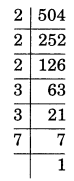 Exponents and Powers Class 7 Extra Questions Maths Chapter 13 Q6.1