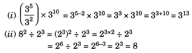 Exponents and Powers Class 7 Extra Questions Maths Chapter 13 Q10.1
