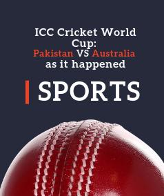 ICC Cricket WorldCup: Pakistan VS Australia as it happened
