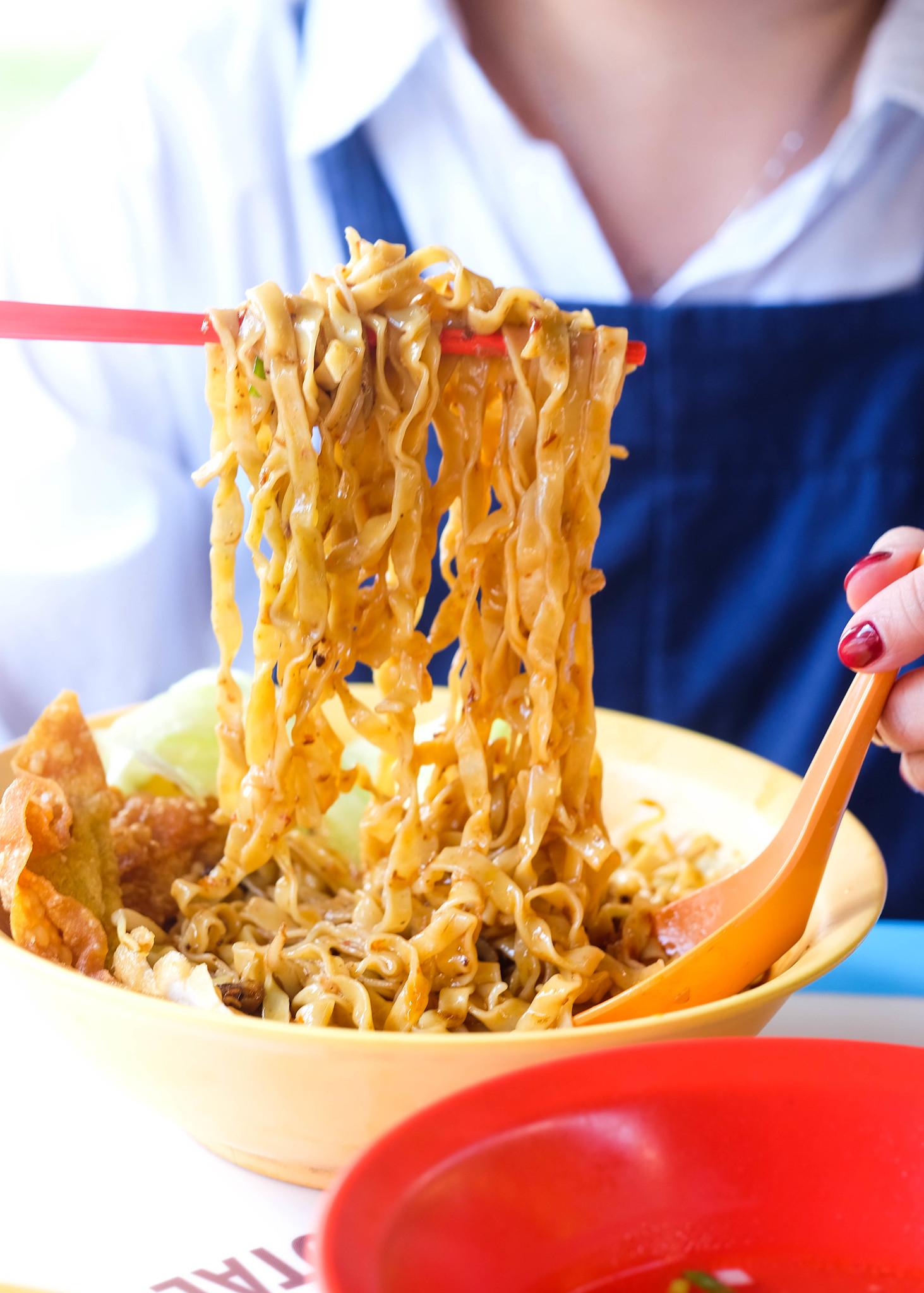 Cai Ji Fishball Noodle pull