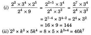 Exponents and Powers Class 7 Extra Questions Maths Chapter 13 Q9.1