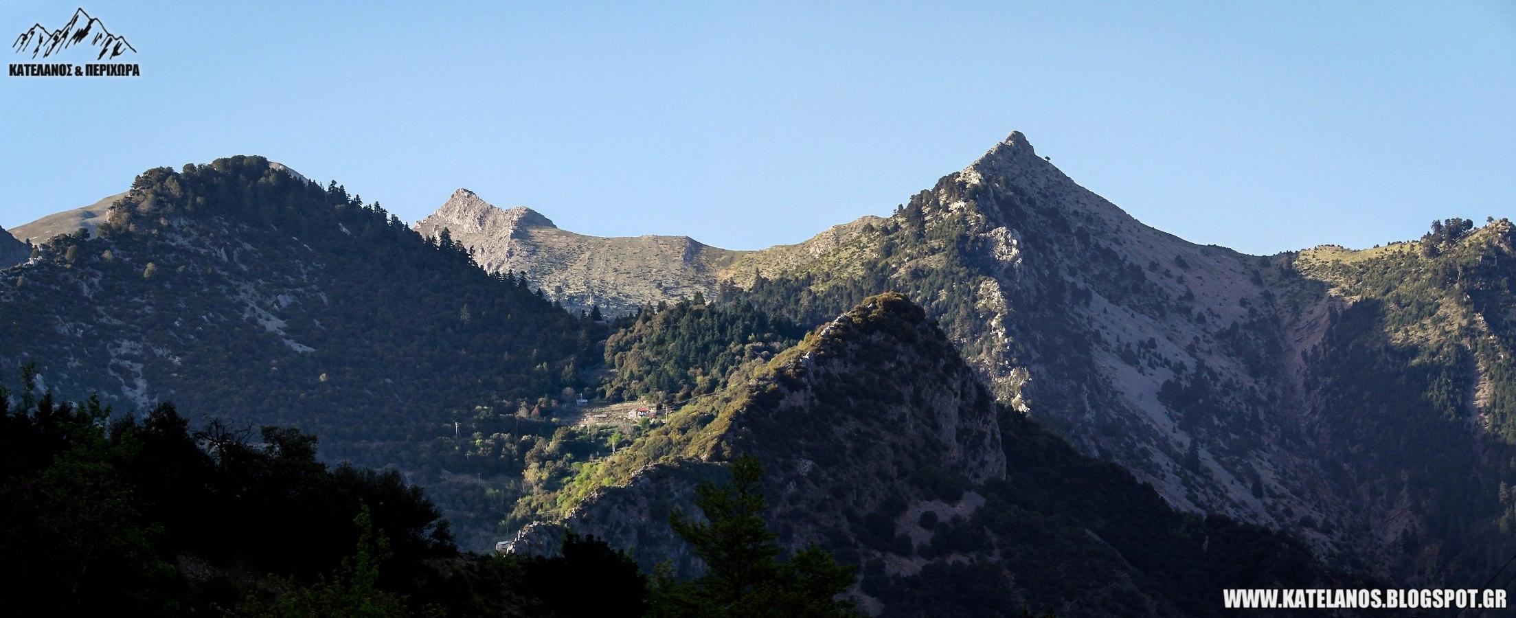 ορος χελιδονα ευρυτανιας βουνοκορφες βουνο δερματι ορεινη ελλαδα