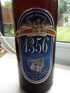 Brasserie de Bellefois, 1356 Bière Blonde, France