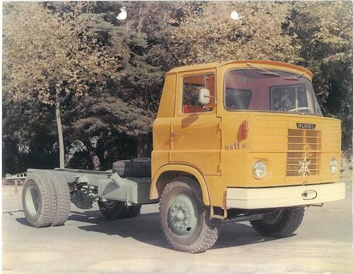 camió Rubel HS11 a Montjuïc