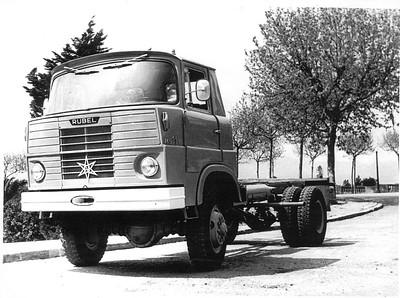 camió Rubel 4 x 4 Montjuïc